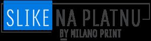 logo slike na platnu