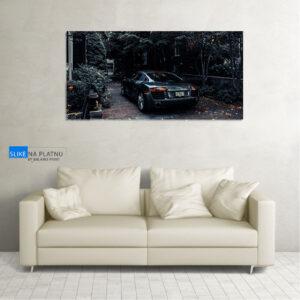 Audi R8 slika na platnu