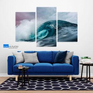 Oceanski talasi slika na platnu